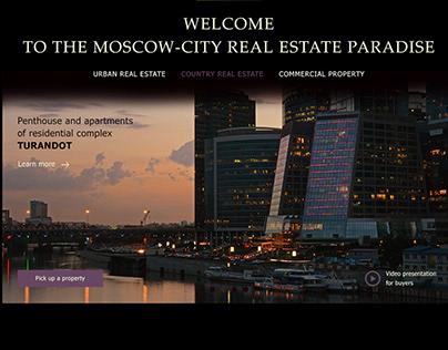 Luxury real estate agency