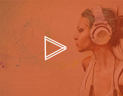 Music Responsive UI / Web Design
