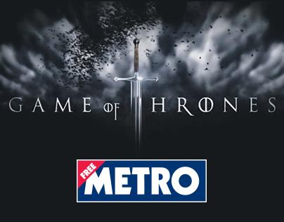 Metro Game of Thrones Wrap