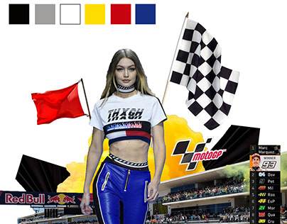 MOODBOARD Inspired by MOTOGP