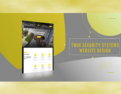 Twin Security Systems Web Design