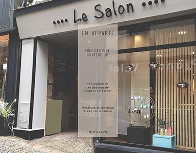 En Apparte - Salon de coiffure - Architecture interieur