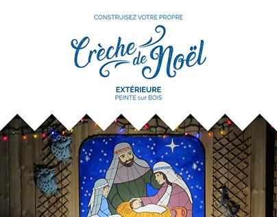 Construisez votre propre Crèche de Noël!
