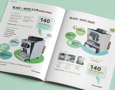 UNITEDCOFFEE // Brochure Design