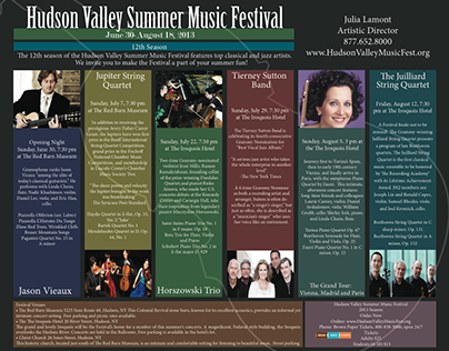 Hudson Valley Summer Music Festival
