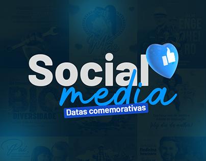 Design para social media Datas comemorativas