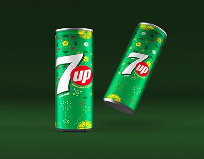 Tết Packaging // 7UP