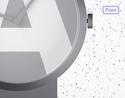 Freebie - Free Photorealistic Watch Mockup