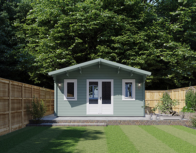 Garden rooms_3d visualisation