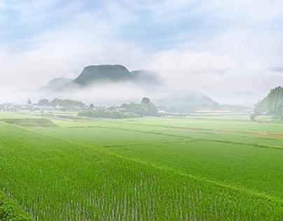 Landscape photography of Oita Japan #03
