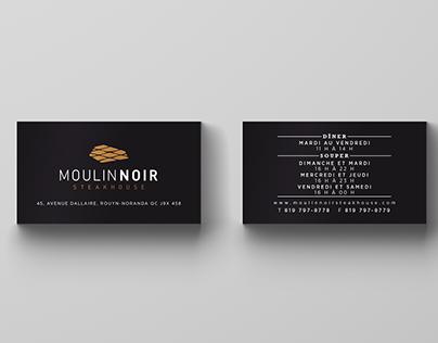 Carte d'affaires - Moulin Noir