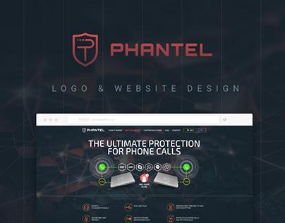 Phantel - logo & website redesign