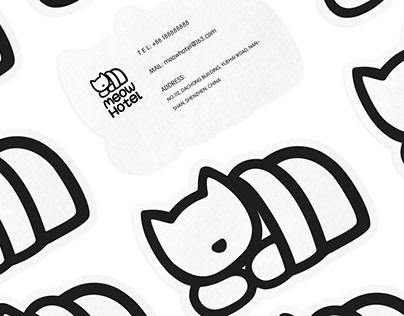 VI design for Meow Hotel