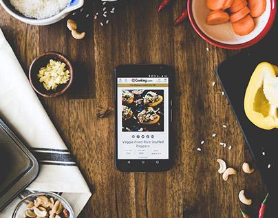 Recipes Site