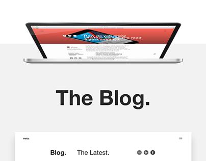 Meta Blog