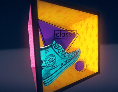 Design Bootcamp: 3D Converse Logo reveal