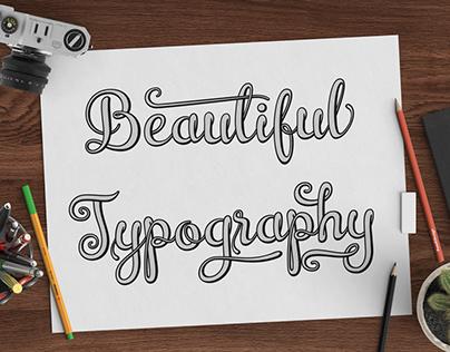 Innovation of Script Font
