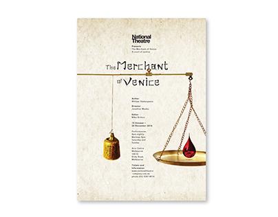 The Merchant of Venice Publication Design