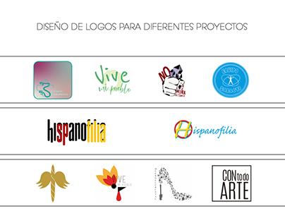 Diseño de Logo para diferentes proyectos