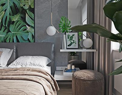 Дизайн интерьера в стиле Тропический Минимализм
