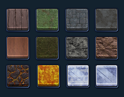 Material and Shape Icons - EverQuest Next Landmark
