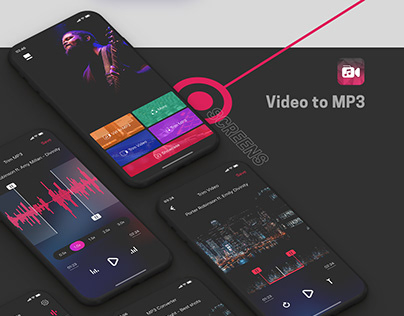 Video to MP3 | UI design