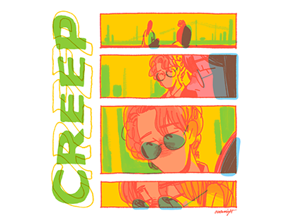 Concept drawing: Creep