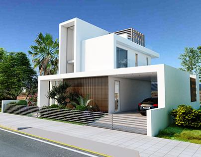 House design & Easter social media post