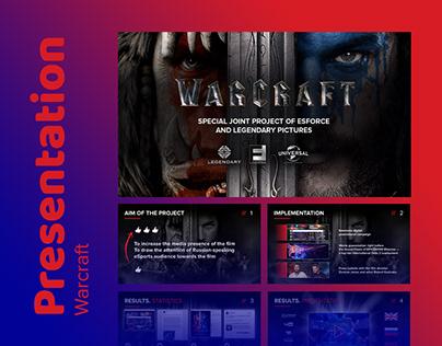 Design presentation WARCRAFT