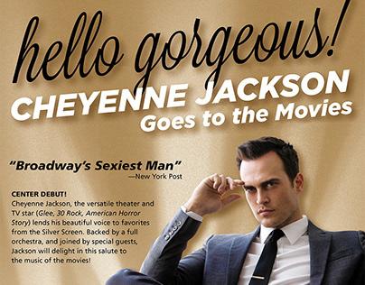Cheyenne Jackson ad