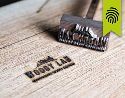Logo Design and Corporate Image - Woody Lab