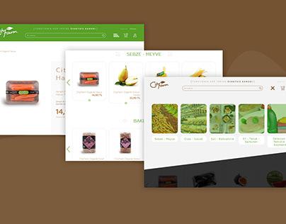 City Farm E-Ticaret Web Sitesi