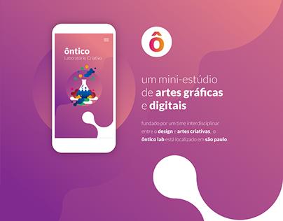 website ôntico.lab