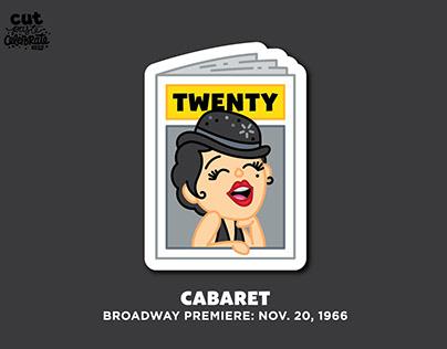 November 20, 1966 - Cabaret Broadway Premiere