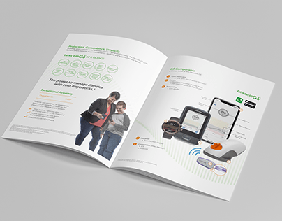 multi-page sales brochure design