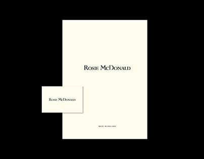 Rosie McDonald