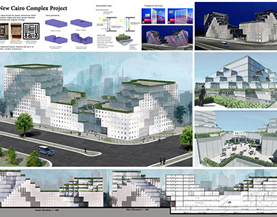 New Cairo commercial administrative complex