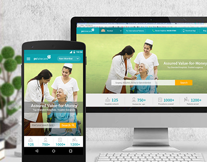 Responsive Web-Design for PSTakeCare