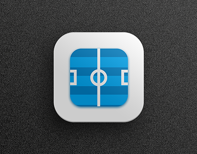 Icon for football scores app