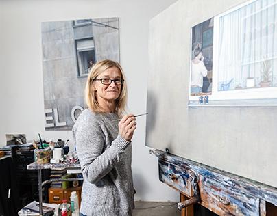 Künstlerin Susanna Storch