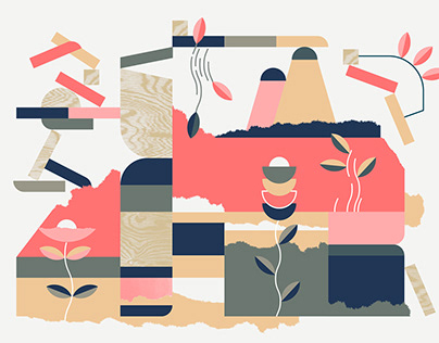 """Illustration Series """"Music by Nature"""""""