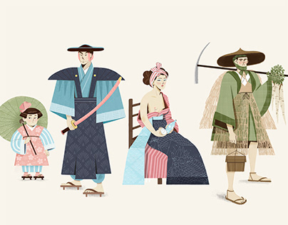 Character Design - Lost Japan