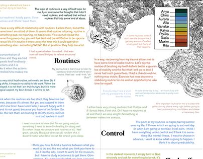 Topography of sense-making
