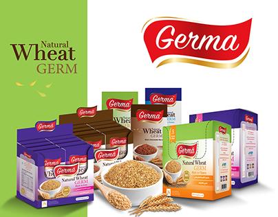 Natural Wheat Germa Packaging