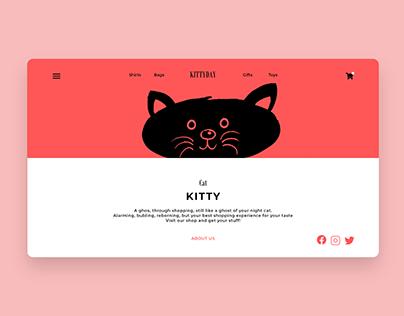 About Us Page UI Design Concept