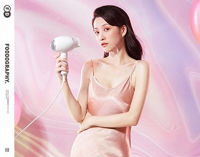 个护产品摄影 | 康夫hair drier confu ✖ foodography