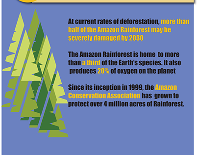 AMAZON CONSERVATION ASSOCIATION CLASS PROJECT (POSTER)
