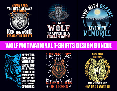 Wolf Motivational T-Shirt