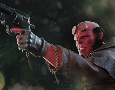 Hellboy - Tribute for the great Mike Mignola