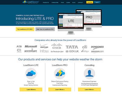 Loadstorm Web Page Concepts
